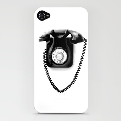 Telephone iphone cover