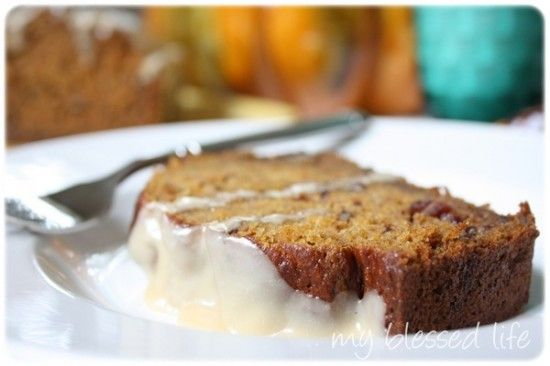 Pumpkin-Cranberry Pecan Bread {My Blessed Life Guest Post}