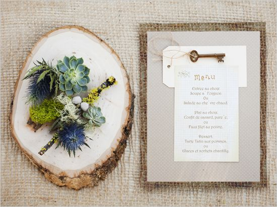 key themed wedding