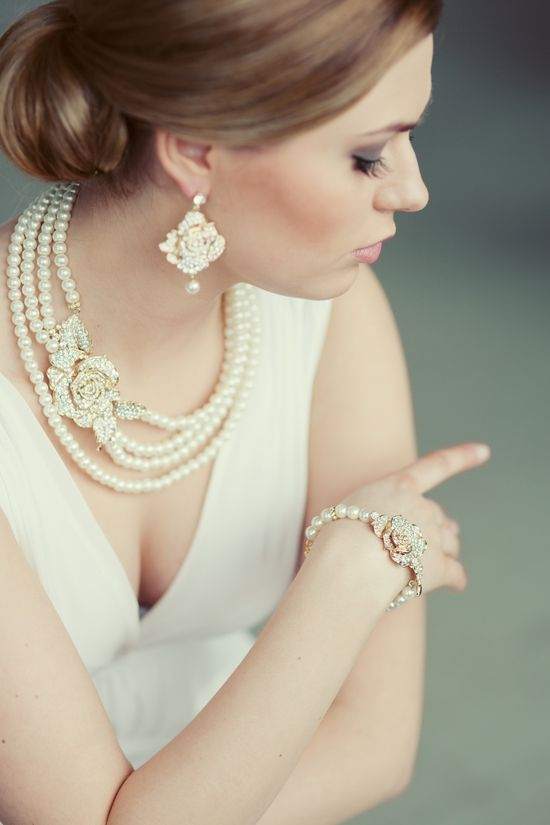 Romantic Wedding Jewelry