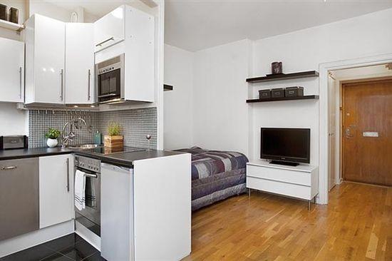 Tiny Studio Apartment Decorating Ideas