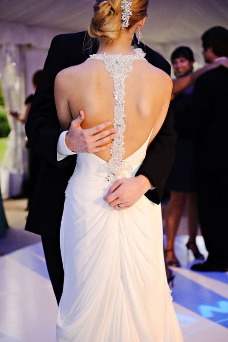 Gorgeous back of a dress!