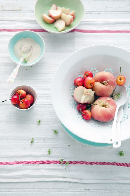 Cannelle et Vanille: The stone fruits of summer
