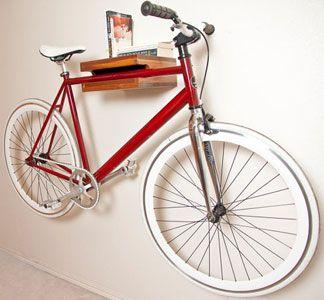 "Walnut 12"" Bike Rack!"