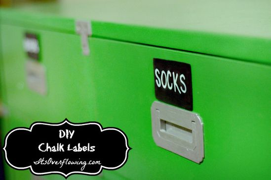 DIY Chalkboard Labels and AWESOME Chalk Marker!