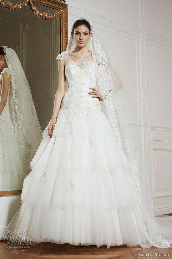 zuhair murad bridal fall 2013 valerie wedding dress