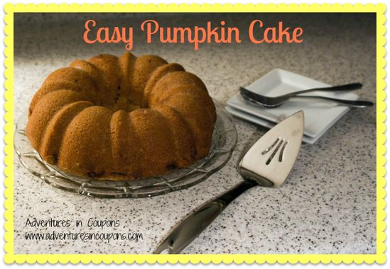 Easy #pumpkin #cake #recipe