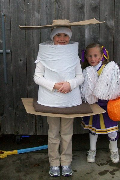 s'more Halloween Costume