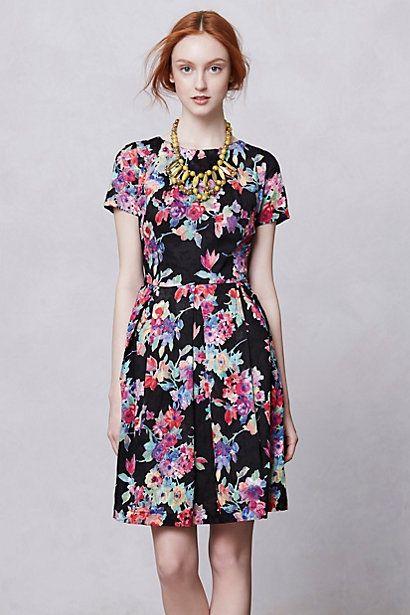 Museum Garden Dress #anthropologie
