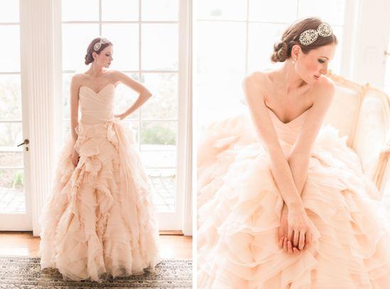Blush wedding dress : Sareh Nouri Spring 2013