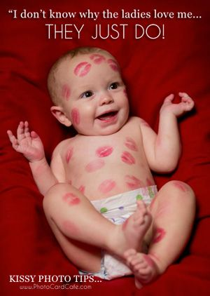 We love this cute baby photo!