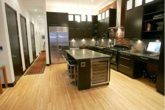 Open kitchen design idea