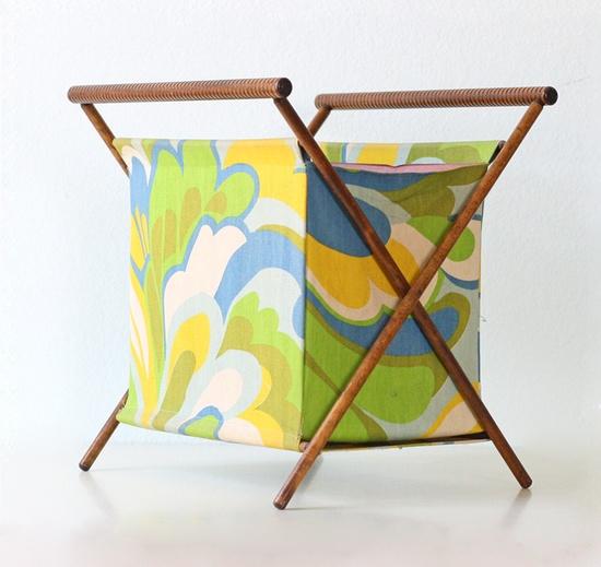 Retro Sewing Basket.