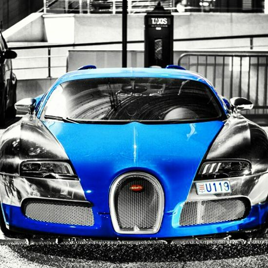 Epic shot of a Bugatti Veyron