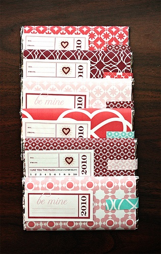 Valentine's Candy Wrappers available here: www.etsy.com/...