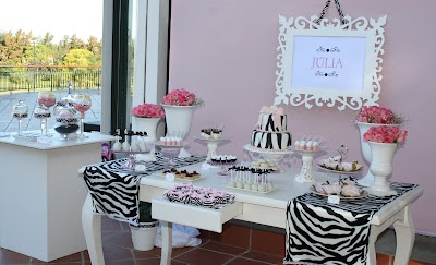 pink Animal Print party