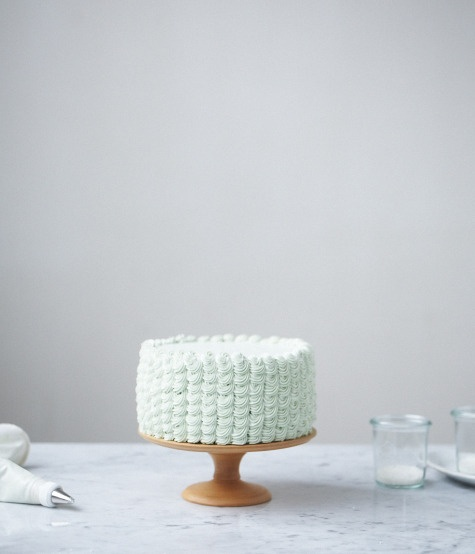 mint cake.