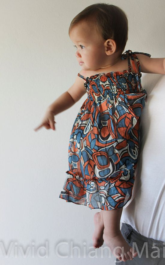 Baby girl dress infant clothes cute toddler dresses by VividDress, $17.00