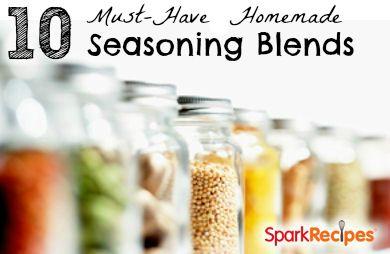 10 (DIY) Salt-Free Herb & Spice Blends | via @SparkPeople #recipe #cook #food #pantry