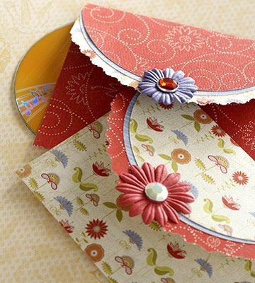 CD Case (But will make a beautiful card!! Pattern included!)