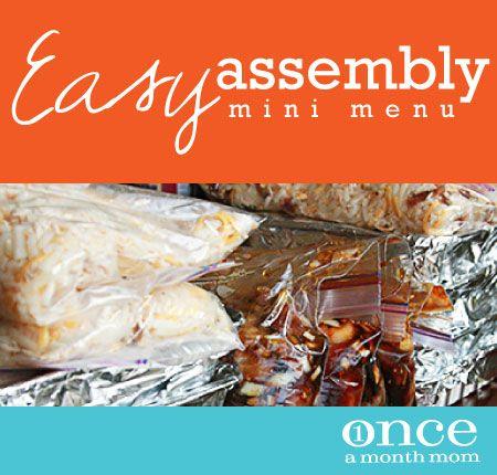 Easy Assembly Mini January 2013 Menu