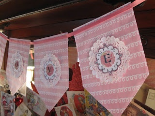 Paper Bag Banner - Created by Jan Ely from Little Pink Houses Blog