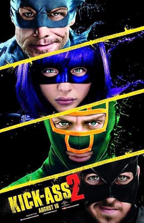 Kick-Ass 2 movie poster