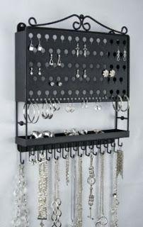 Women's Jewelry Hanging Organizer