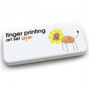 Safari Finger Painting Art Set