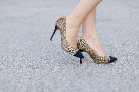 #fashion #shoes decollete animalier