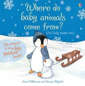 Enjoy some activities to go along with the storybook 'Where Do Baby Animals Come From?