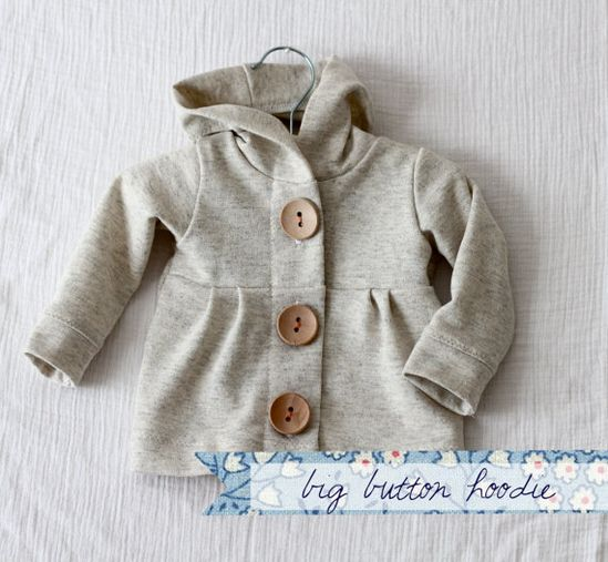 Cutest baby hoodie ever!!!  Lots of other cute baby clothes on this site as well.