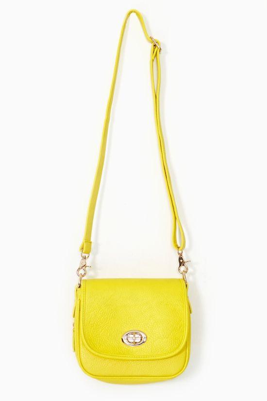 Electric Flash Bag in Yellow