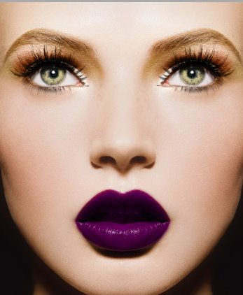MakeUp - Purple!!!!!!