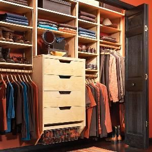 Storage: How to Triple Your Closet Storage Space Build your own birch plywood closet organizer for half the cost of buying one. Using this simple design you can build an organizer to fit any size closet in a weekend. fro FamilyHandyman.com
