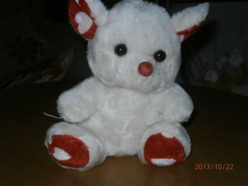 Charity Item Stuffed Animal Plush Toy Kids Toy Donation White