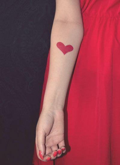 Cute tattoo.