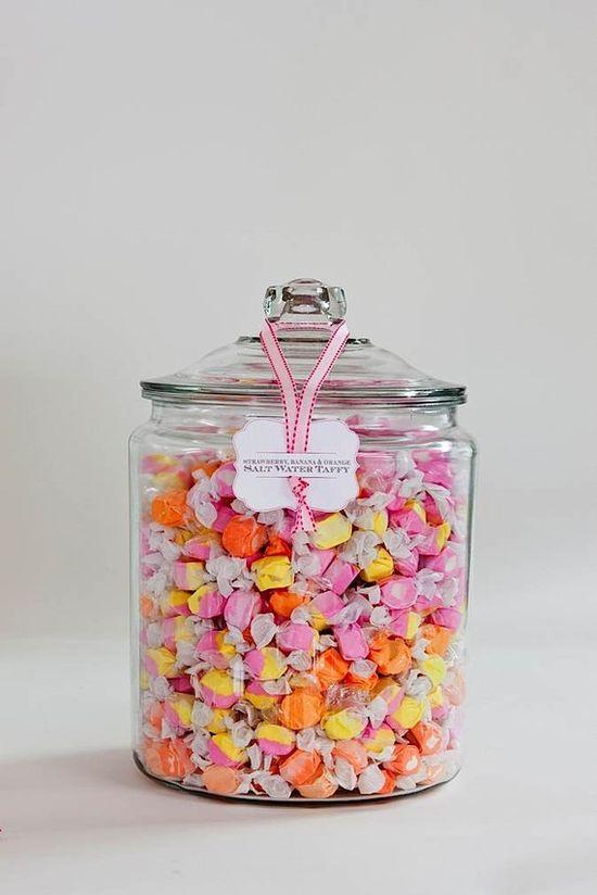 candy jar label