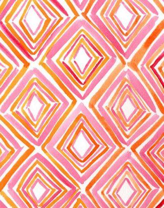 Orange + Pink :)