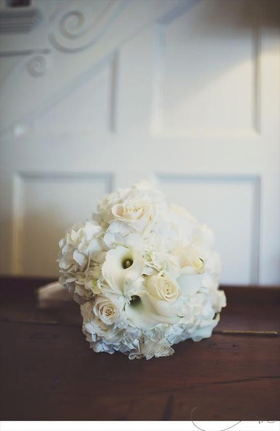 Pretty white #bouquet