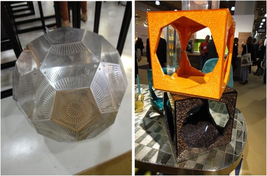 The cellular trend was big at ICFF. #office #design