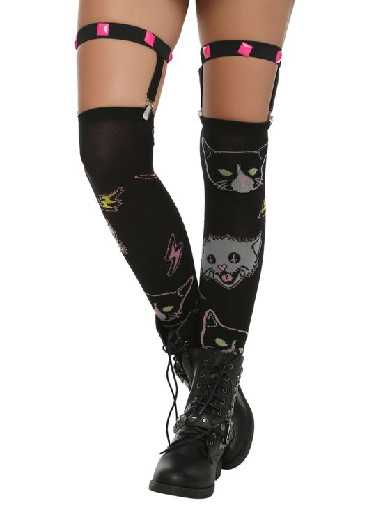 Rat Baby Cat Garter Socks