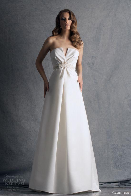 cymbeline paris 2014 hilma strapless wedding dress