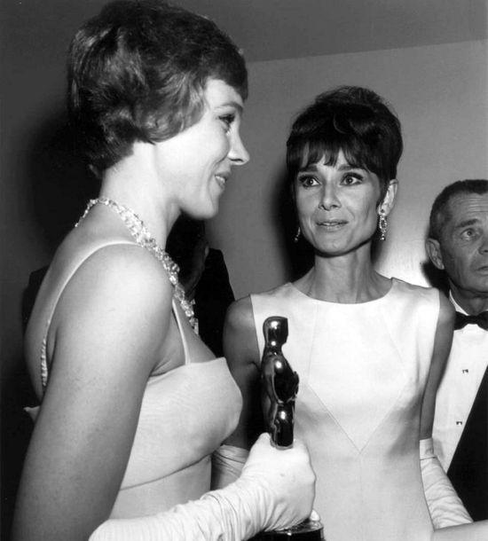"""Julie Andrews and Audrey Hepburn - """"My Fair Ladies"""""""