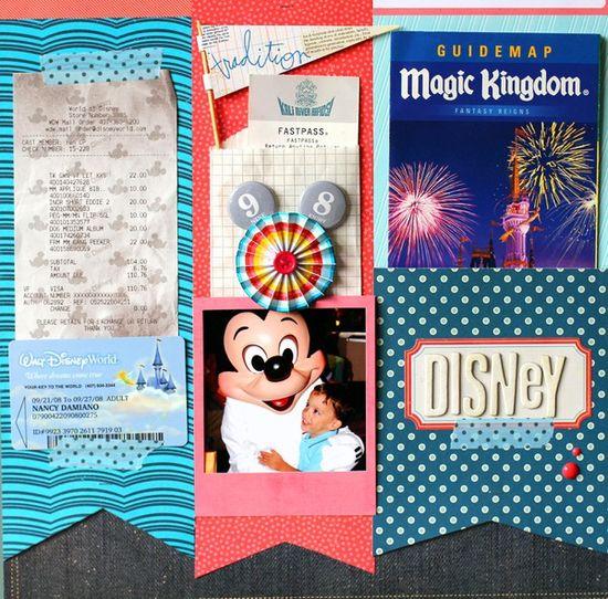 Memory Keeping Monday: Disney Memorabilia - Two Peas in a Bucket