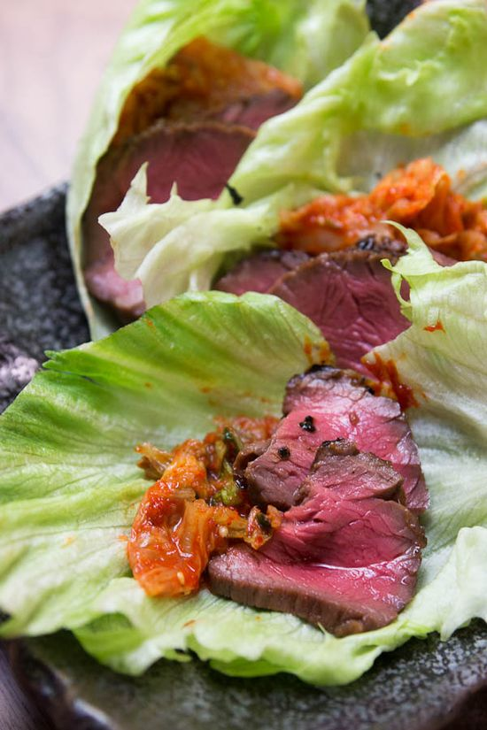 Korean-Style Grilled Beef