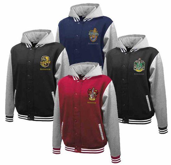 Hogwarts House Fully Custom Quidditch Varsity Jacket by Hanavas, $70.00. I TOTALLY need this.
