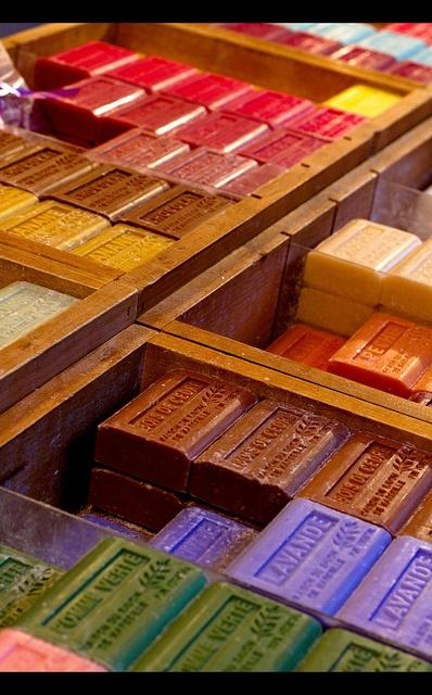 Marseille soap,  France