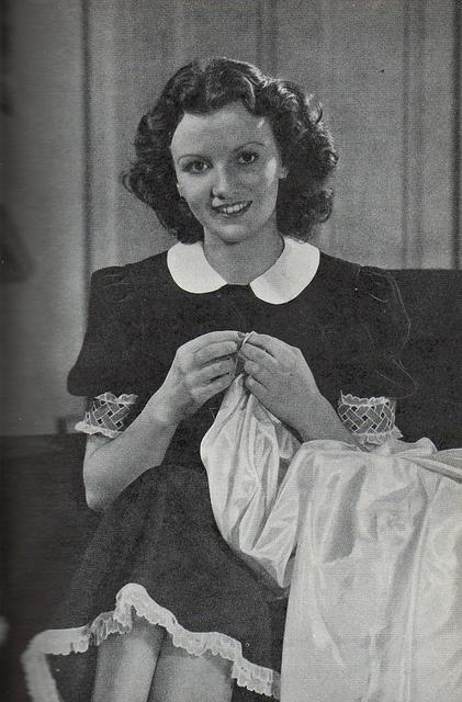 1930's woman by sue-tarr, via Flickr