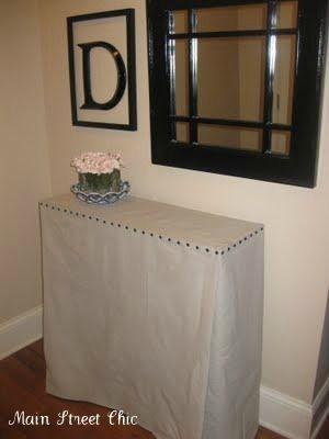 DIY Skirted Table